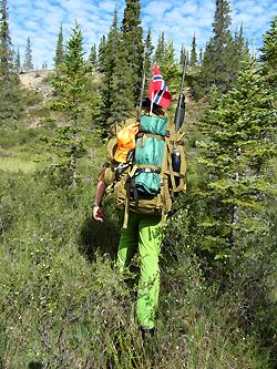 Sandy Lake Expedition 2013 - P? vei mot Helge Ingstad vinterkvarter