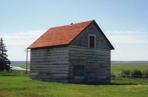Hudson Bay Tradepost at Grouard in Alberta