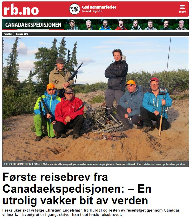 Romerikes Blad - Sandy Lake Expedition - En utrolig vakker bit av verden